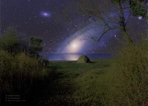 Сближение ночей (колористика - 6)