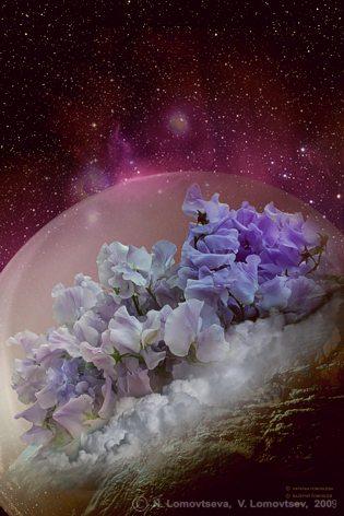 Цветение планеты - 1 (колористика - 1)